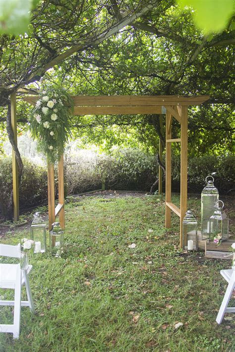 Wooden Wedding Arch Hire   Feel Good Events   Melbourne