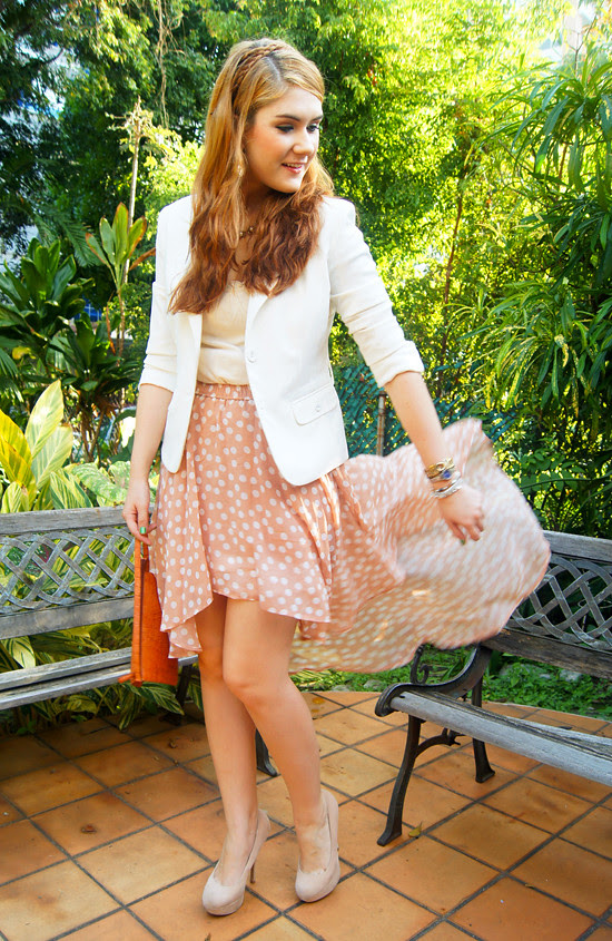 Asymmetrical skirt by The Joy of Fashion (6)