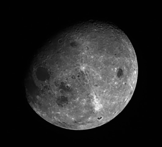 OSIRIS-REx Sees the Moon Like We Can't