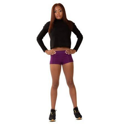 Stashitware Stash Pocket Underwear, Deep Pocket Women's Boy Brief Purple