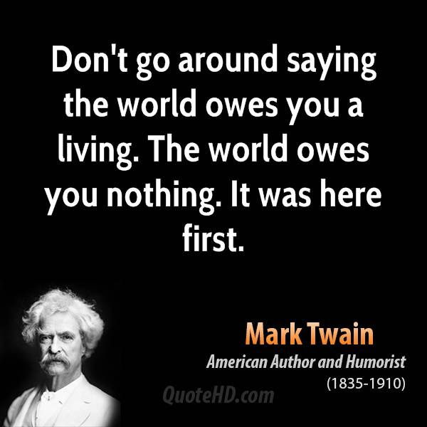 Mark Twain Life Quotes Quotehd