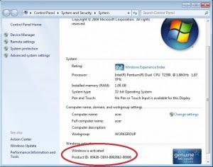 Activate window 7