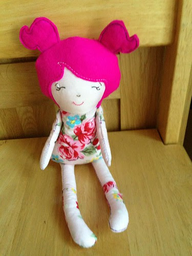 ITH dolly handmade with love by shelly