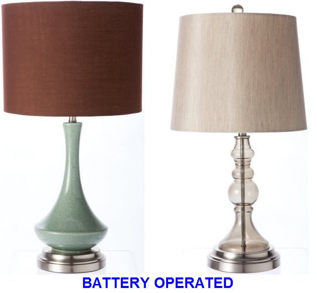 Battery Powered Desk Lamps on Battery Operated Cordless Table Lamps   Whereibuyit Com