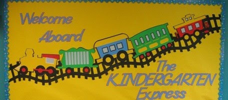 Welcome-Aboard-The-Kindergarten-Express-Bulletin-Board