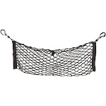 Juvale Elastic Cargo Net - Vehicle Trunk Stretchable Organizer with Hooks, Rear Mesh Net for Cars, Vans, Trucks, and SUVs - Disturb Stopper from