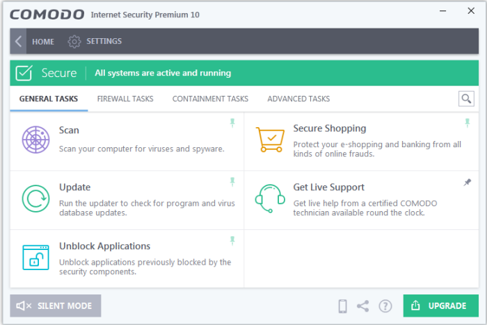 comodo internet security premium 10 key