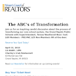April Luncheon The ABC's of Transformation