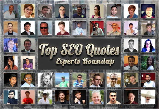 Top 52 SEO Quotes of 2016 | Experts Roundup