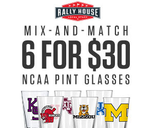 6 for $30 Pint Glasses
