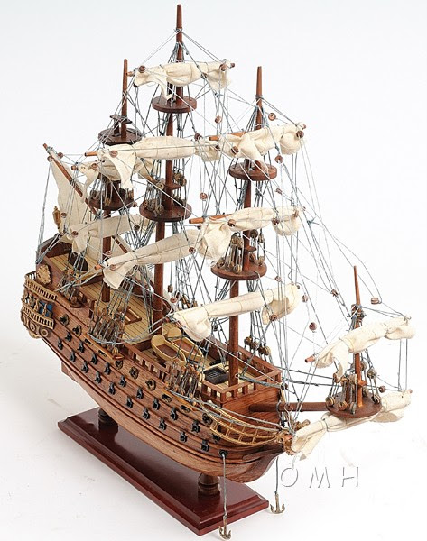BUILDING OF MODEL SHIPS, BOATS & SAILBOATS