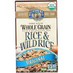 Lundberg Family Farms Organic Whole Grain Original Wild Rice - 6 Oz. - Case Of 6