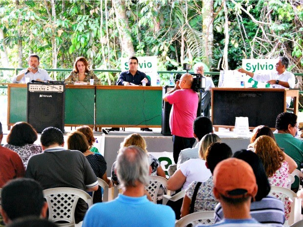 Candidatos a reitor da Universidade Federal do Amazonas (Foto: Divulgação/Adua)