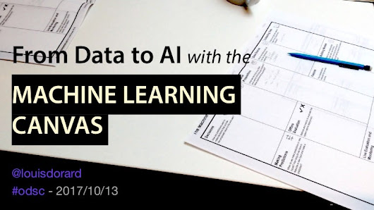 From Data to Artificial Intelligence with the Machine Learning Canvas…