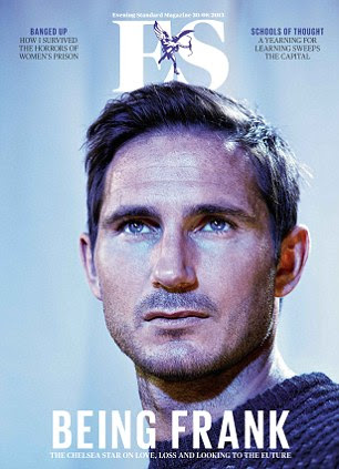 The full interview with Frank Lampard is in this week's edition of ES Magazine