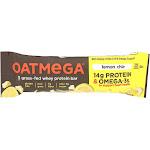 Oatmega Protein Bar, Lemon Chia Crisp ‐ 1.8 Ounce Packet -PACK 12