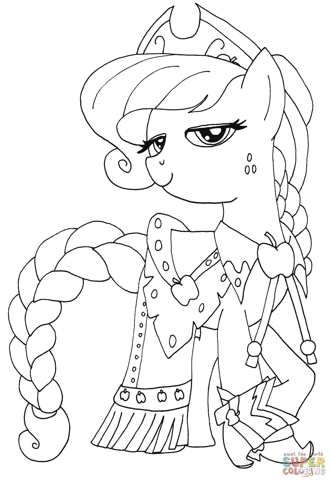 the Princess Applejack