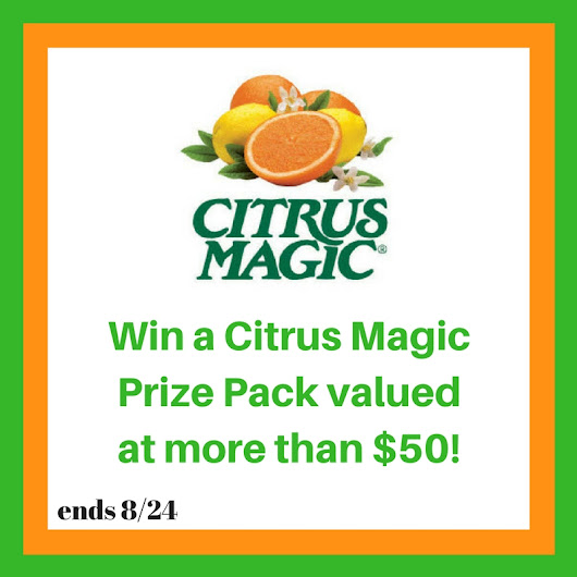 Citrus Magic Prize Pack Giveaway – Includes $50 in Free Products - Famous Ashley Grant