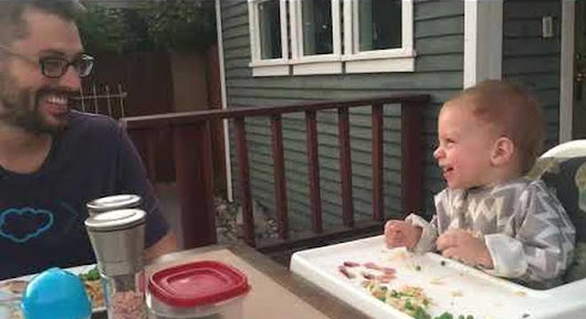 We Will Never Tire Of Viral Videos Featuring Babies With Contagious Laughter - Digg