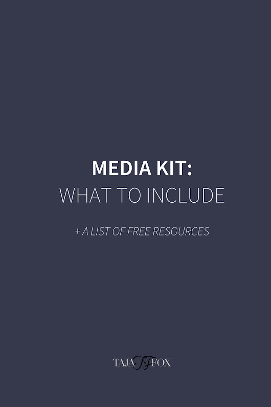 Do You Really Know How to Create a Media Kit? + List of Resources