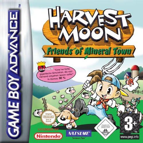 Resultado de imagem para harvest moon friends of mineral town