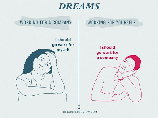 Working for a Company vs. Working for Yourself