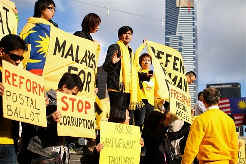Bersih 2 - Melbourne, Australia