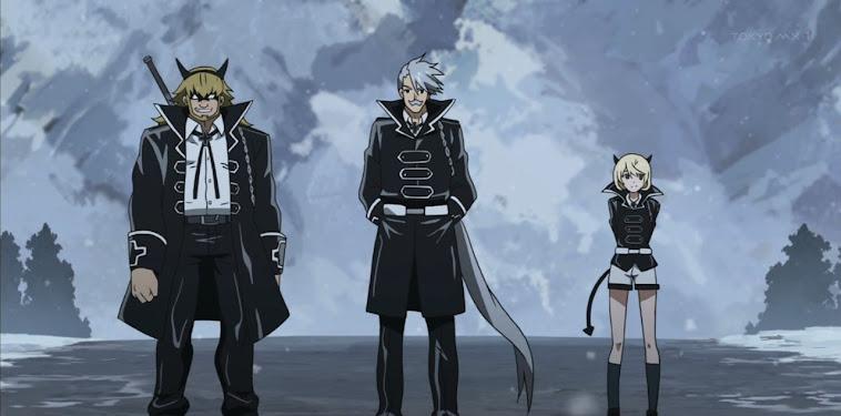 3 Beasts Akame Ga Kill