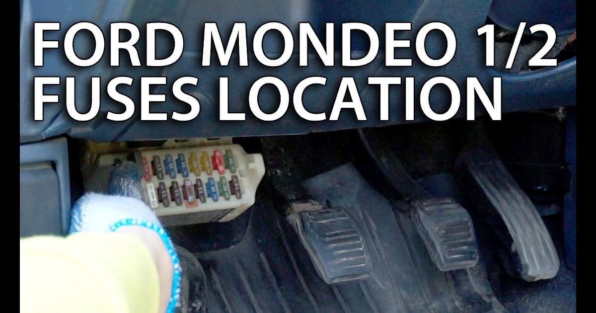 Ford Mondeo Mk1 Fuse Box