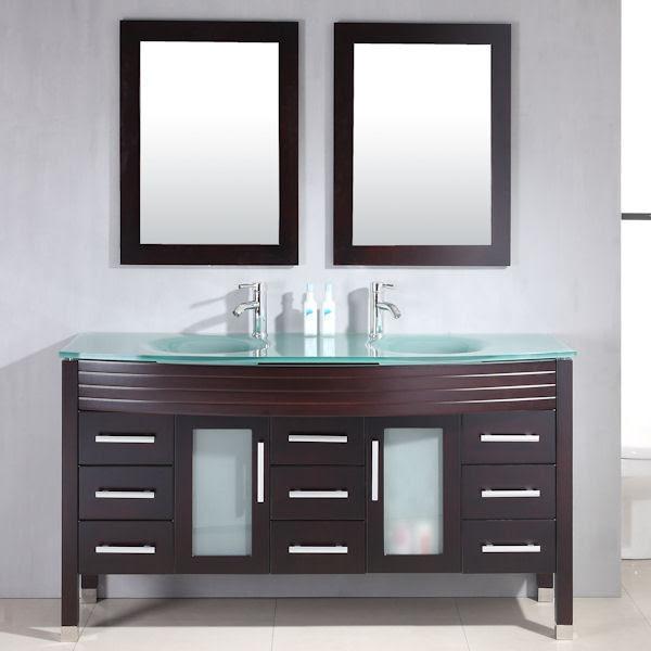 Double Bathroom Vanities - traditional - bathroom vanities and ...