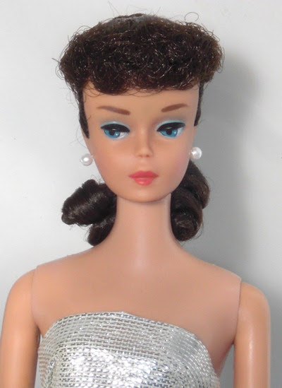 Number Six and Seven Ponytail Vintage Barbie Doll