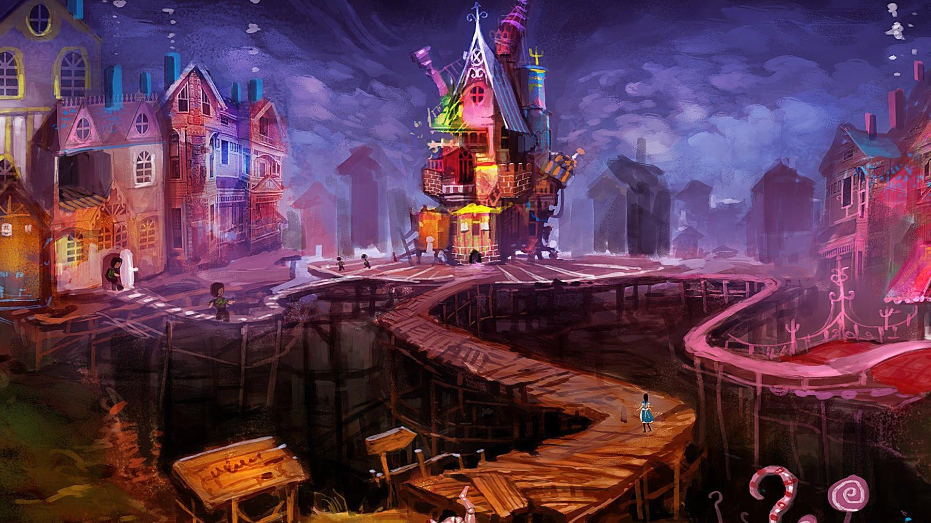 1920x1080 Px Alice Alice In Wonderland High Quality Wallpapers