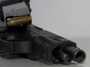 As armas que apresentaram defeitos não estão em circulação, segundo a SSP (Foto: Reprodução/Tv Fronteira)