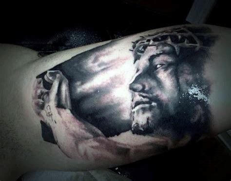 religious tattoos  men improb