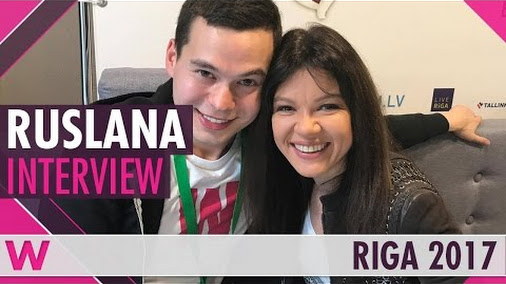 Ruslana (Eurovision 2004 Winner) Interview | Eurovision Pre-Party Riga 2017