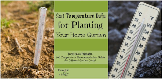 Soil Temperature Data for Planting Home Gardens | Farm Fit Living