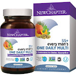 New Chapter Multi, One Daily, Every Man's 55+, Vegetarian Tablets - 24 tablets