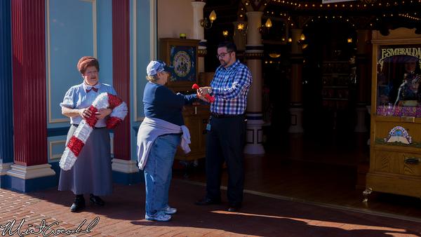 Disneyland Resort, Disneyland, Main Street U.S.A., Christmas Time, Christmas, Candy Cane, Candy, Cane, Distribution