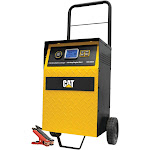 Cat 40-Amp Rolling High-Frequency Charger with 110-Amp Engine Start