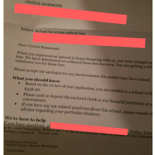 I Received A $500 Check From Wells Fargo And I'm Pissed (Part 1) -