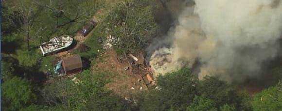 explosion at Wordes home