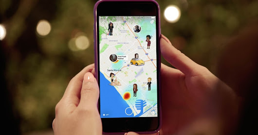 The Snap Map is another way to stalk your pals in real time