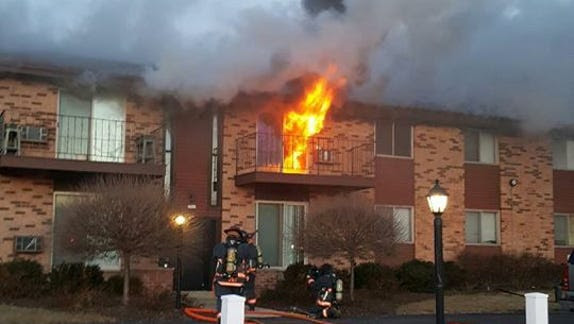 Image result for greenfield apartment building fire