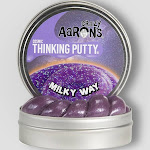Crazy Aarons Thinking Putty, Cosmic Milky Way - 3.2 oz pack