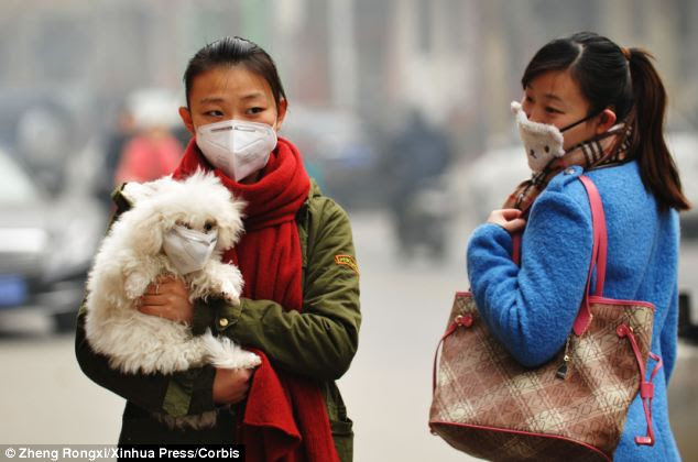 Image result for asian air pollution affecting world's weather
