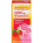 Emergen-C Raspberry Drink Mix - 30 count, 0.32 oz each
