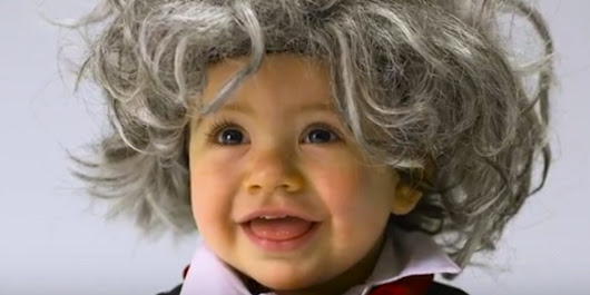 Look At These Adorable Babies Dressed As Bob Ross, Beethoven And More