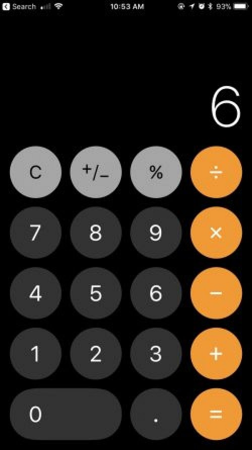 iOS 11.2 Beta Fixes Calculator Bug Causing Incorrect Calculations when Numbers Are Rapidly Entered
