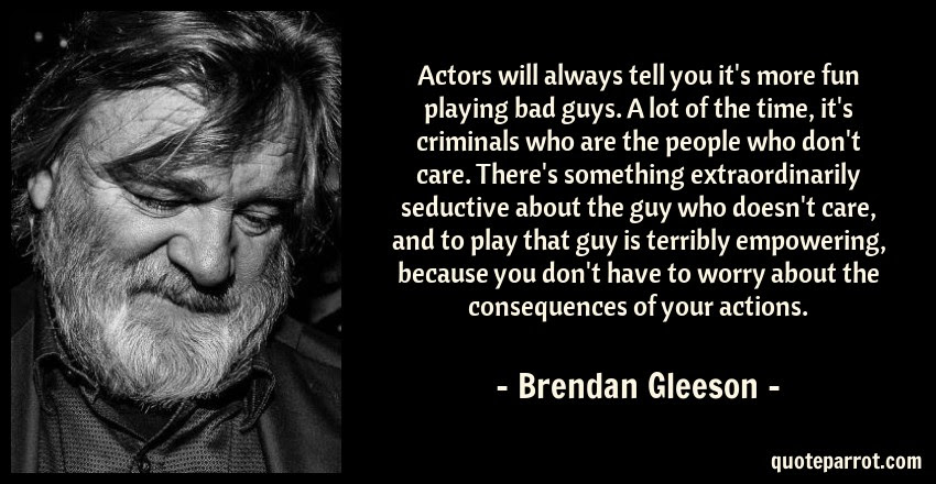 Actors Will Always Tell You Its More Fun Playing Bad G By