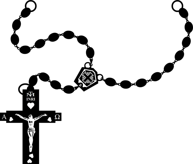 Praying Hands With Rosary Clipart Free Download Best Praying Hands